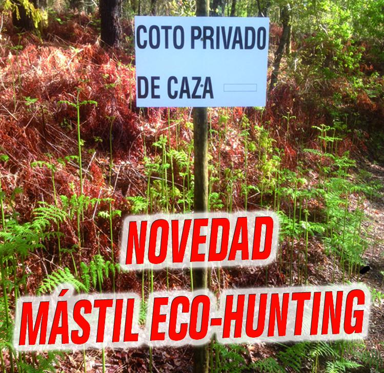 Mástil eco-hunting camilo vilas