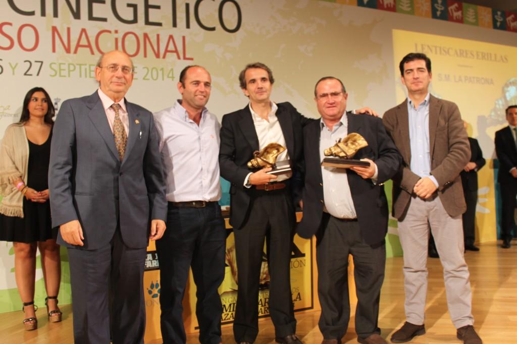 'Erillas', Caracola de oro 2014 a la mejor montería en abierto.