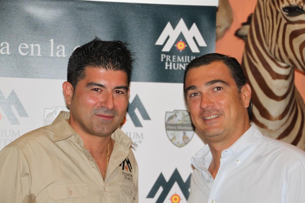 Juan José López, Premium Hunts y Luis de la Torriente, de Caza y Safaris