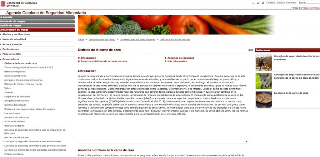 consumo carne cataluña