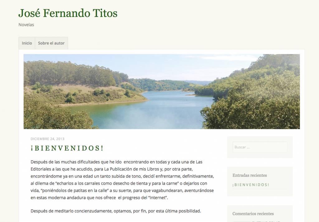 José Fernando Titos publica sus escritos de campo y caza en su blog