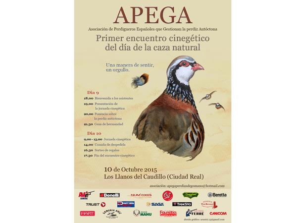 Primer Encuentro Cinegético del Día de la Caza Natural, de APEGA
