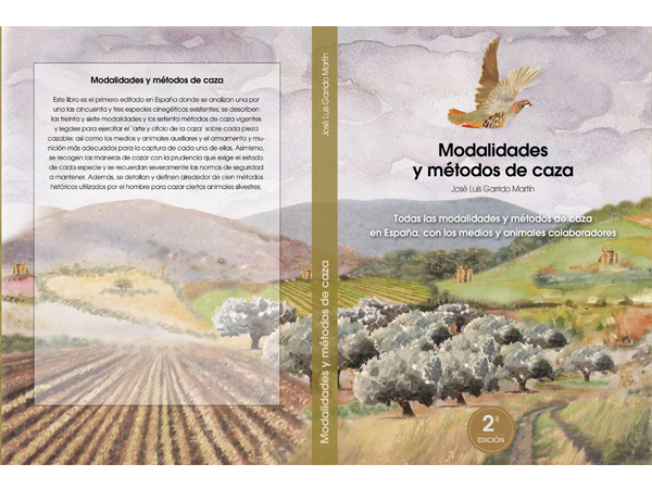 R- Portada 2ª edición Modalidades y Métodos de Caza