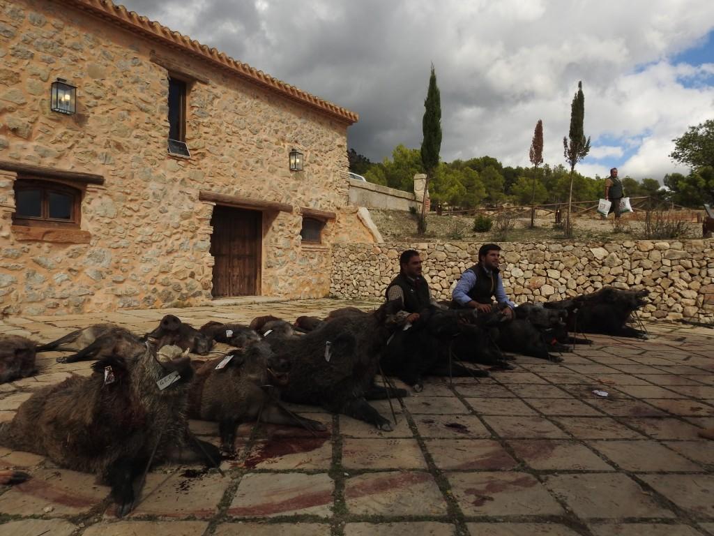 'Las Ramblas Altas', de M. Barceló, buen resultado a pesar del calor
