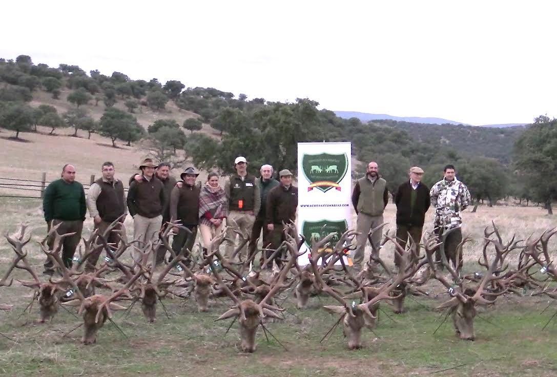 Vallelazarza, monteando con Dehesas y Umbrías y Hunters Tool