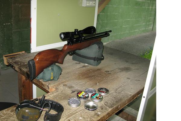 Entrenamiento en el tiro con bala preparaci n para la for Campo de tiro las mesas