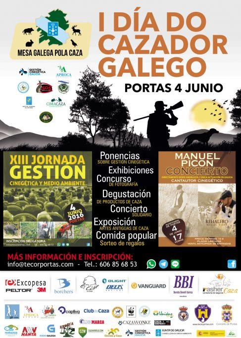 DIA DEL CAZADOR PORTAS  Exposición de grandes mamíferos en Intercaza DIA DEL CAZADOR PORTAS