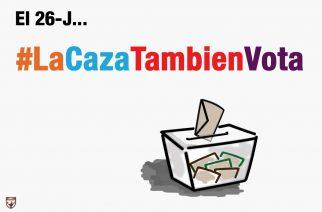 La FAC lanza la campaña #LaCazaTambienVota