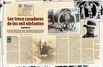 Cazadores de leyenda. Los trece cazadores de los mil elefantes