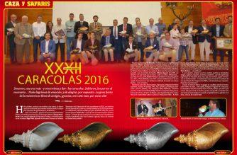 XXXII edición de los Premios Caracola 2016