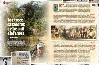 Los trece cazadores de los mil elefantes. Tonny Sánchez Ariño