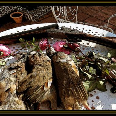 perdices y rosas