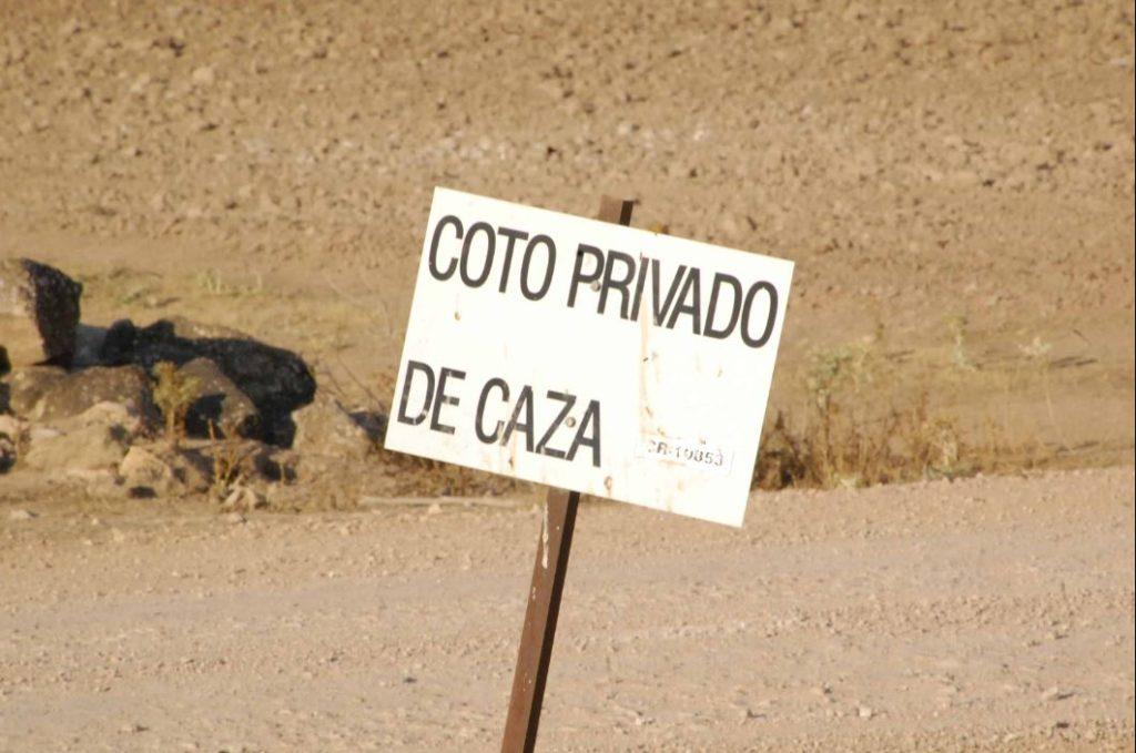 caza totalmente prohibida