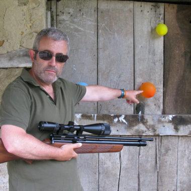 tiro con bala