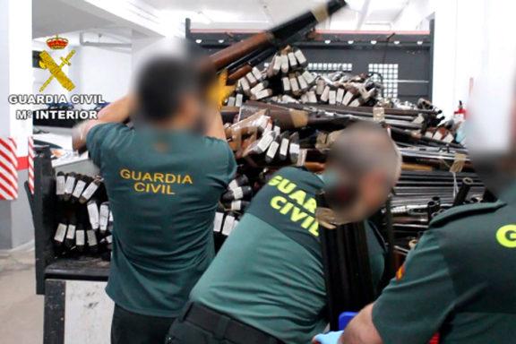 La Guardia Civil destruyó