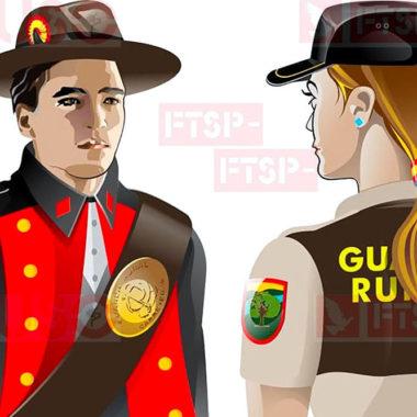171 años Guardas Rurales