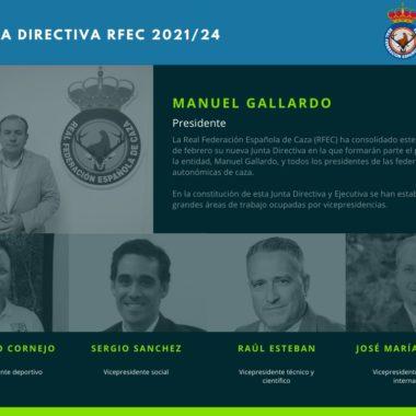 Junta Directiva RFEC