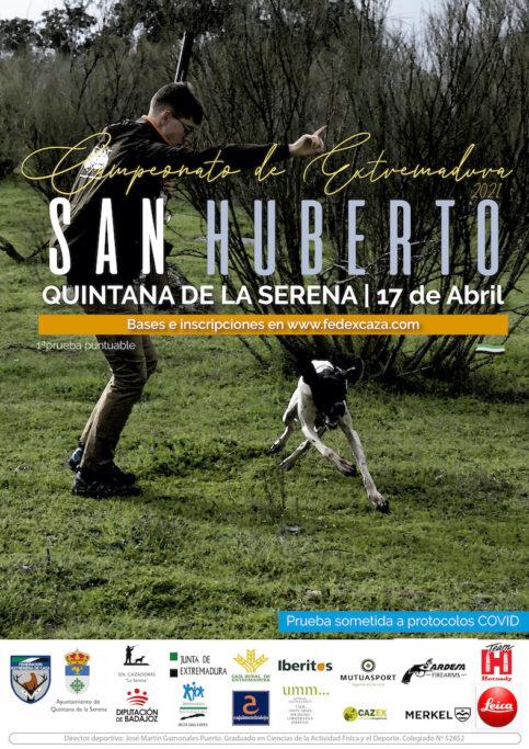 campeonato de San Huberto Extremadura