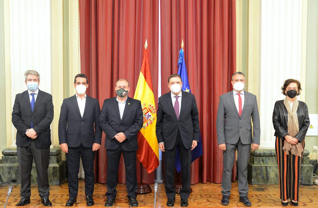 RFEC se reunió con el ministro