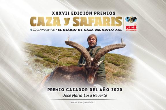 José María Losa Cazador del Año 2020