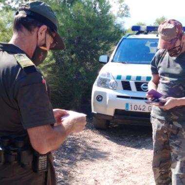 Agente medioambiental de Murcia. Foto: CARM