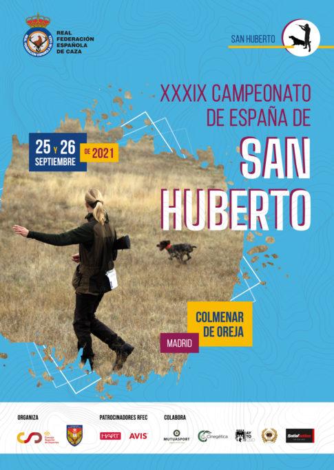 XXXIX CAMPEONATO DE ESPAÑA DE SAN HUBERTO