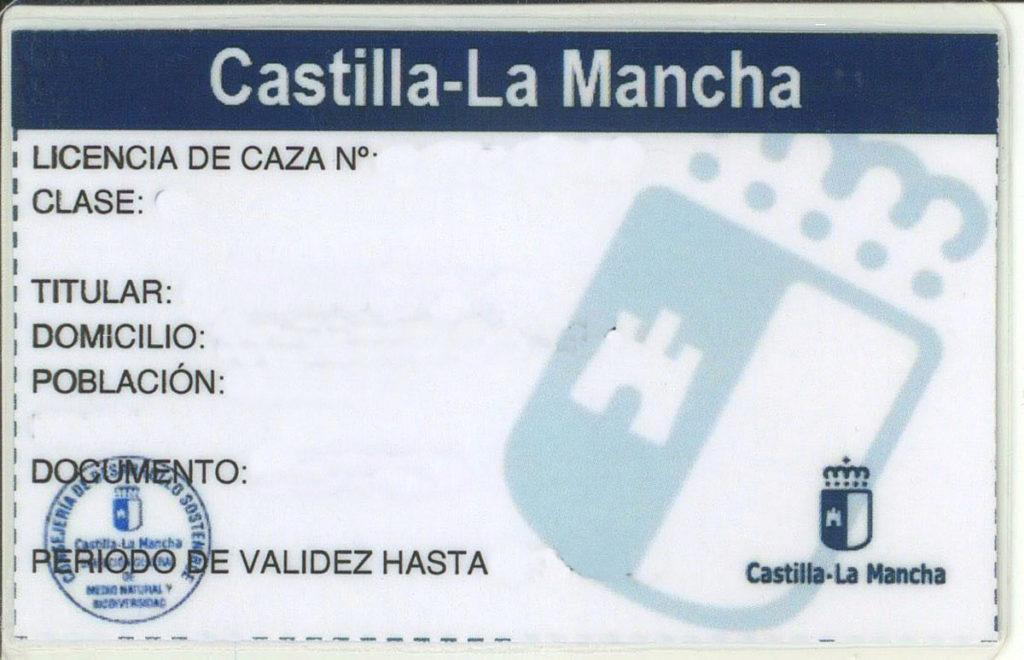 García-Page licencia de Caza